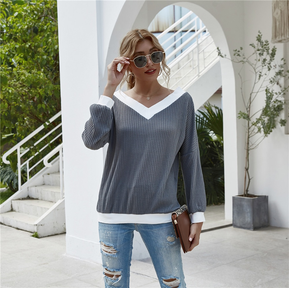 Off-Shoulder-Knitted-Sweater-Women-2020-Autumn-Winter-V-neck-Long-Sleeve-Loose-Pullover-Female-Fashion-Casual-Vintage-Knitwear