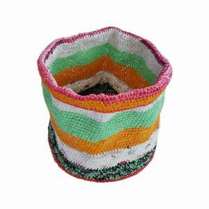 Jellyfish woven basket