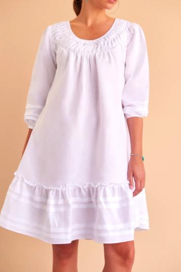 Facil Blanco Jana Dress