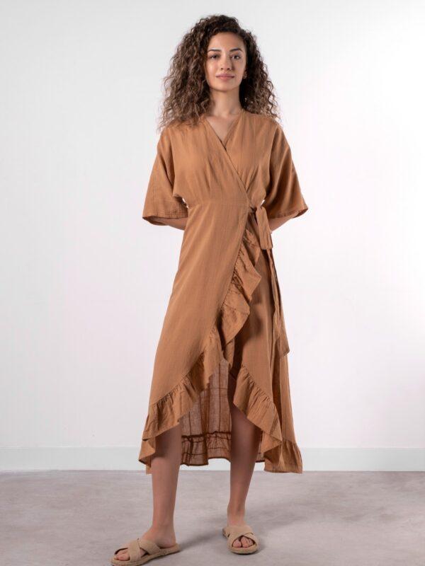 frilled-dress-indiantan1-1200x1600w